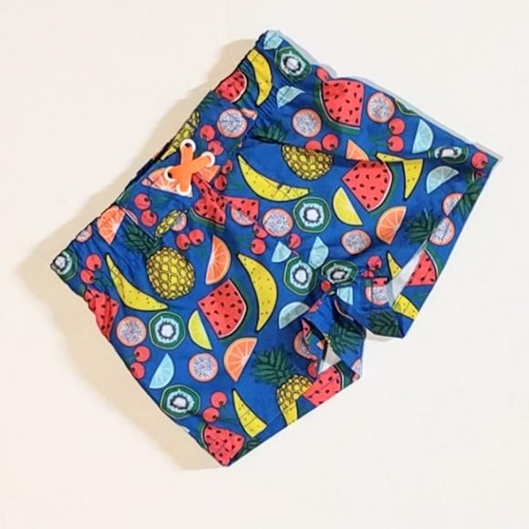 d94ce063e Cat & Jack Swim | Cat Jack Colorful Fruit Print Trunks Sz 9m | Poshmark